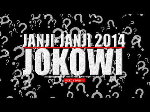 "FINS - Diskusi Politik: ""Membahas Arsitektur Kabinet Jokowi"" (08)"