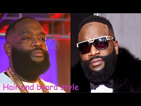 Rick ross hair and beard style (2018)