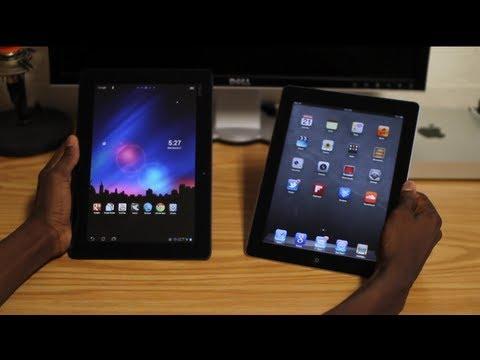 iPad 3 vs Transformer Prime!