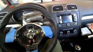 Volkswagen Golf Gti Mk6 Steering Wheel Airbag Removal Swap Replace