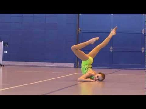 Kelsey's Talent Show Acro Dance