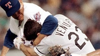 Nolan Ryan fights Robin Ventura (August 4, 1993)