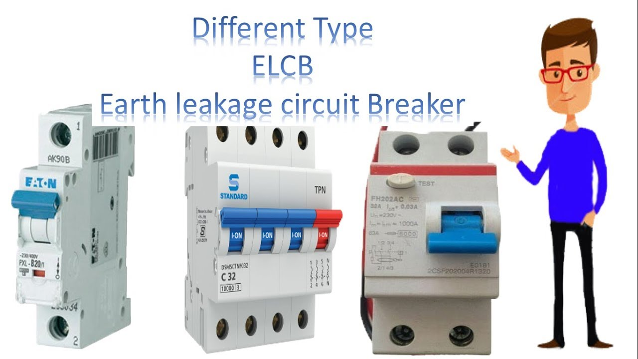 Elcb Type Circuit Breaker By Earthbondhon Youtube Connection Diagram Of Jonyislam