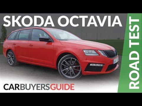 Skoda Octavia vRS 2017 review Skoda Octavia Scout 2017 review