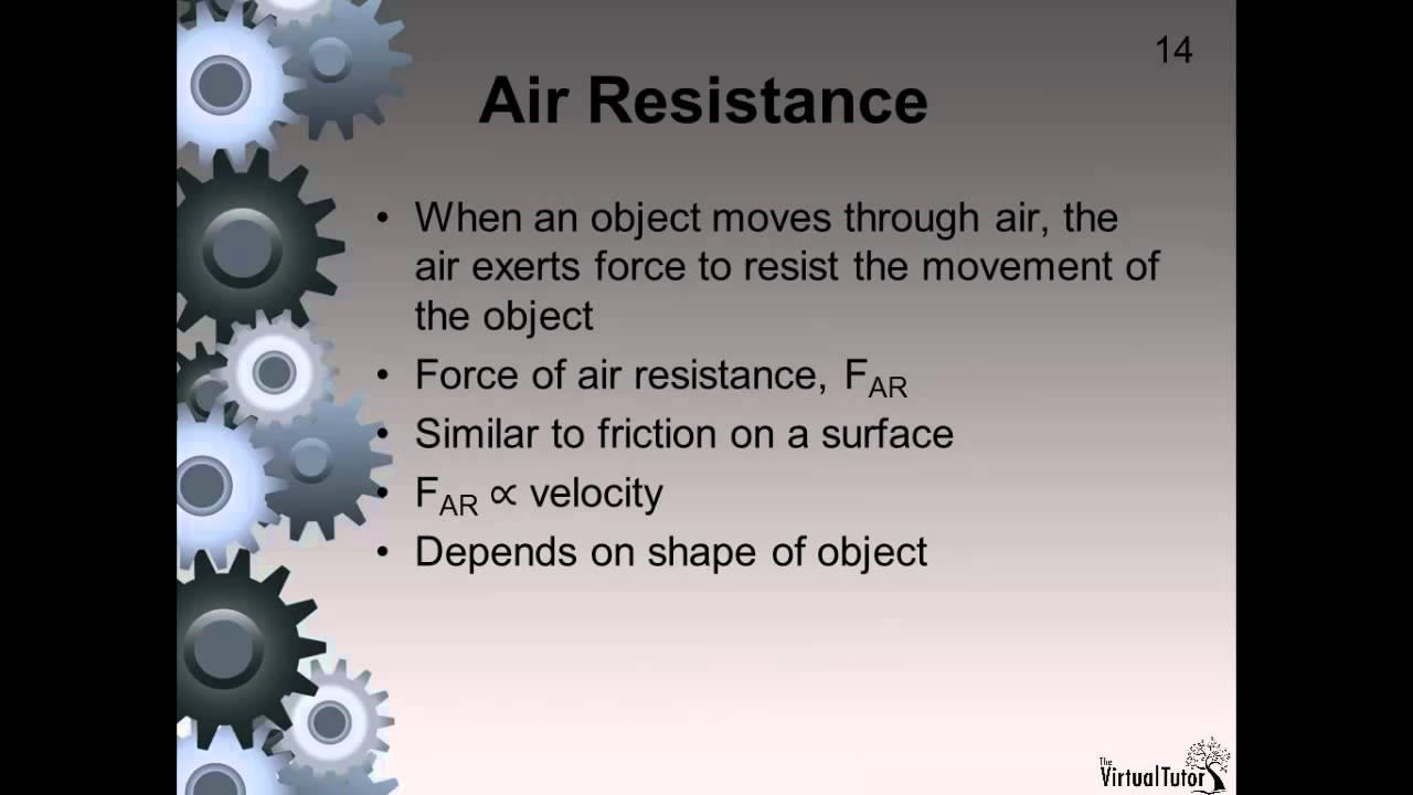 air resistance definition youtube. Black Bedroom Furniture Sets. Home Design Ideas