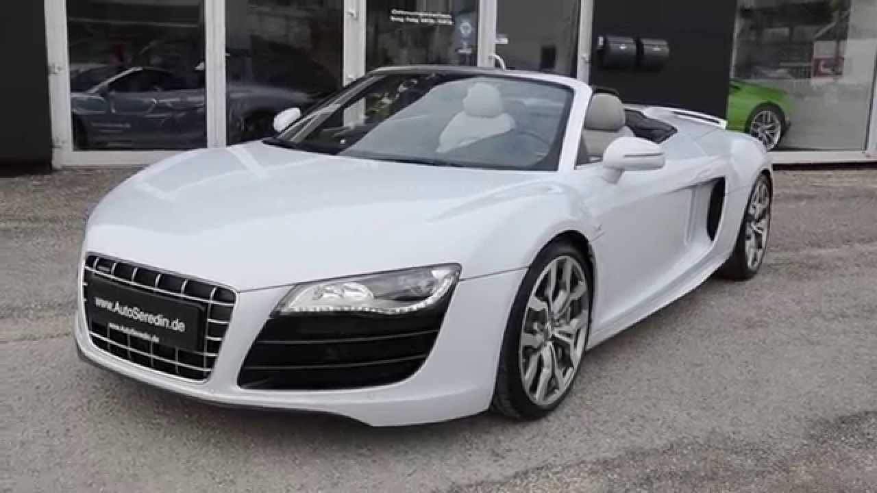 audi r8 cabrio v10 jetzt bei youtube. Black Bedroom Furniture Sets. Home Design Ideas
