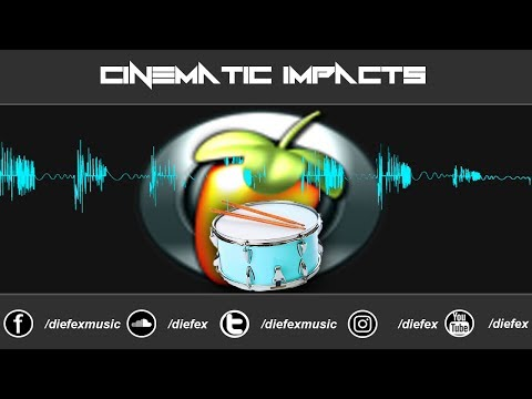 CINEMATIC IMPACTS TUTORIAL IN ( FL STUDIO 12! )