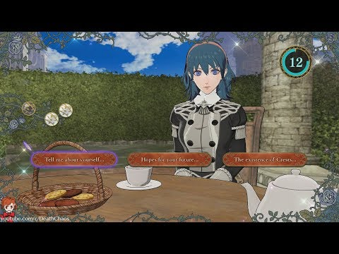 Fire Emblem hacker shows off tea time with Death Knight