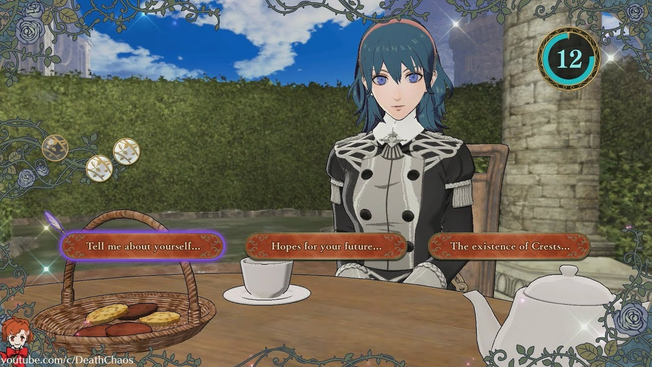 Fire Emblem Hacker Invites The Death Knight To Tea Time