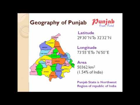 Punjab Static GK II - Geography Of Punjab