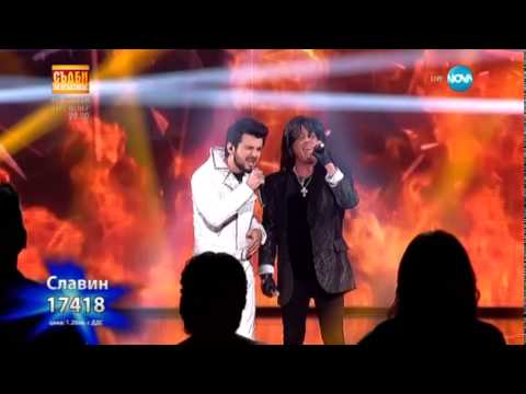Славин Славчев & Joe Lynn Turner Street Of Dreams The X Factor Bulgaria 2014-2015 Final