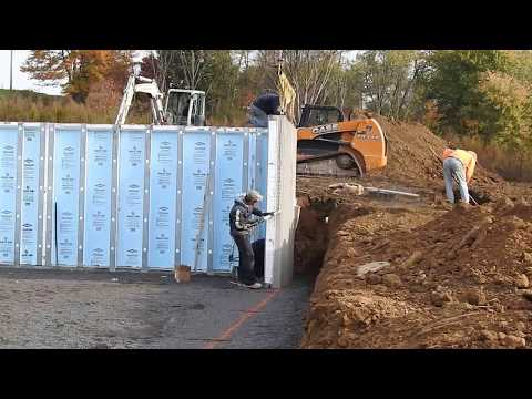New home chronicles superior walls foundation for Superior foundation walls