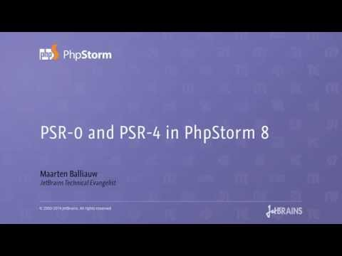 PSR-0, PSR-4 and Source/Test Root support in PhpStorm 8