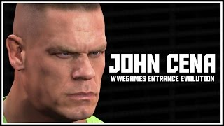 History Of John Cena In WWEGames - John Cena Entrance Evolution! (SD HCTP - WWE 2K16)