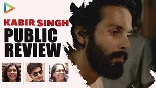 Kabir Singh Public Review | First Day First Show | Shahid Kapoor | Kiara Advani