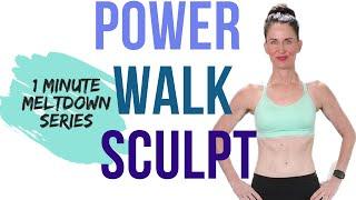 30 MINUTE WORKOUT | POWER WALK & SCULPT | WEIGHT LOSS WORKOUT | FAT BURNING WORKOUT | INDOOR WALKING