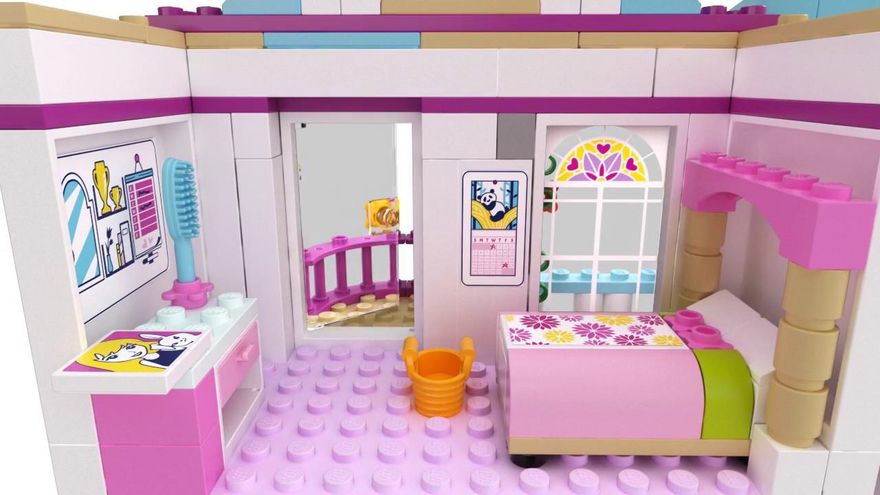 Vizit nd casa stephaniei 41314 lego friends youtube - Lego friends casa de livi ...