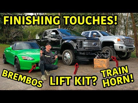 Rebuilding A Wrecked 2019 Ford F-450 Platinum Part 13