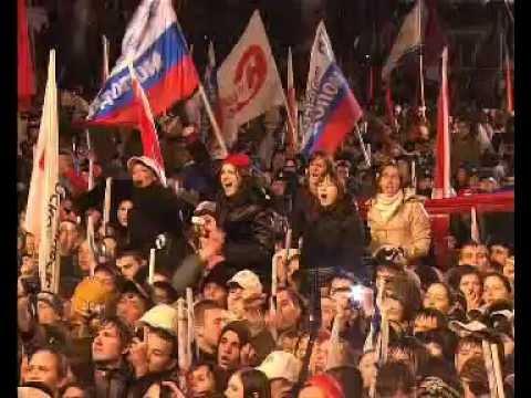 В.Путин.Обращения В.Путина и Д.Медведева.02.03.08