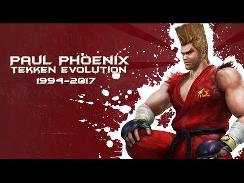 Download Paul Phoenix Tekken Evolution (1994-2017)
