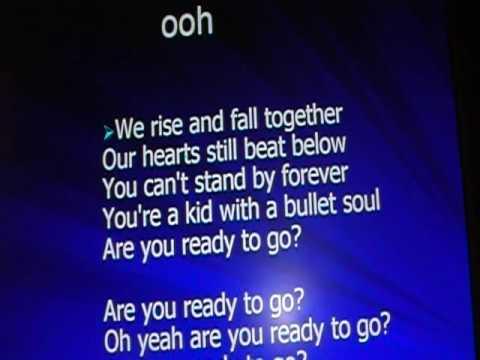 Bullet soul switchfoot lyrics