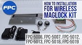 Magnetic Lock Kit Wiring Instructions - YouTube on