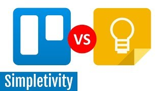 Trello vs Google Keep - Which is Best? (Feature Comparison)