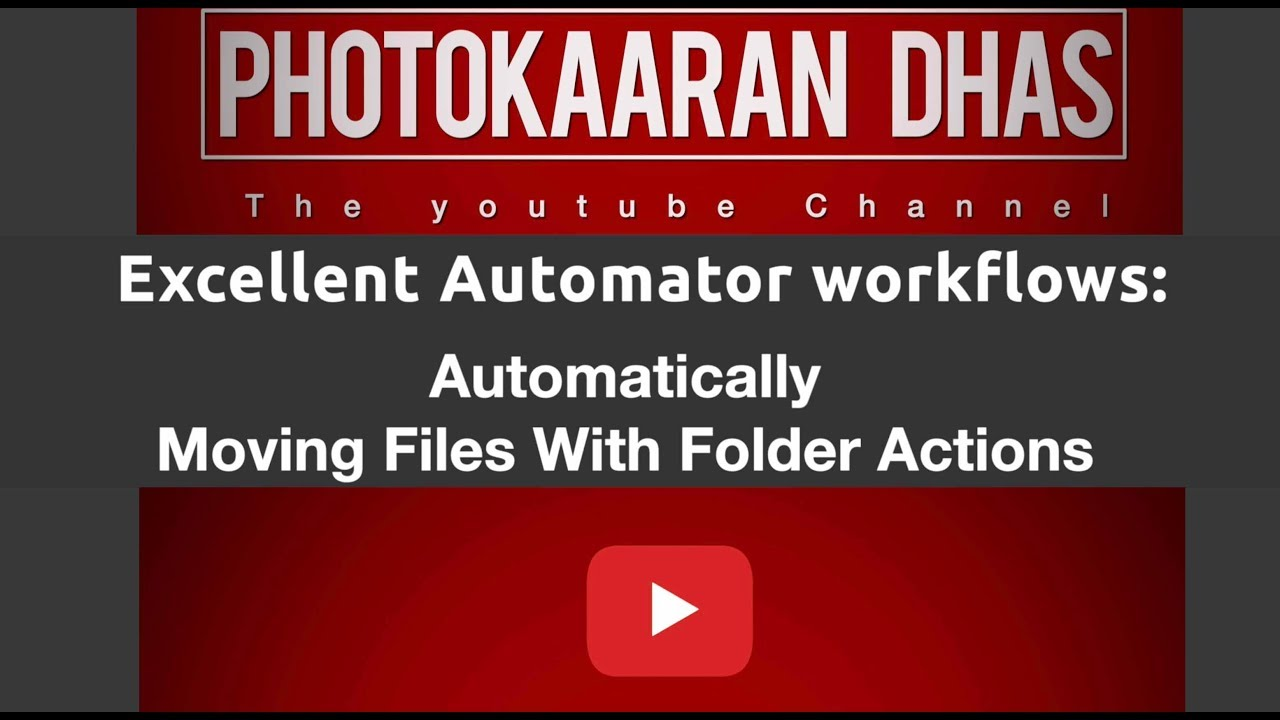 Download Tamil Tutorials Excellent_Automator workflows: Automatically Moving Files With Folder Actions