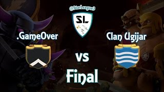 Clash of Clans - .Game Over vs Clan Ugijar [Starleague] - Resumen de Guerra #21