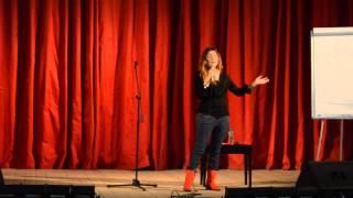 Лекция с Жанной Бадоевой - ведущая Орел и решка