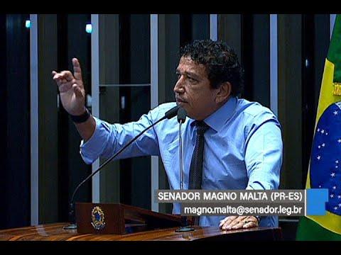 Magno Malta defende a redução da maioridade penal