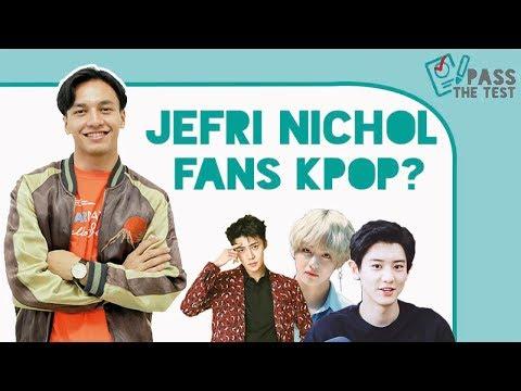 Jefri Nichol Mengaku Lebih Tua dari BamBam 'GOT7'! #PassTheTest Kpop Cewekbanget.id!