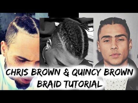 How to Get Dutch Braids | Chris Brown and Quincy Brown Braids | PrettyBoyFloyd