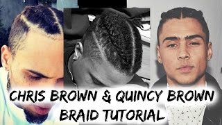 how to get dutch braids   chris brown and quincy brown braids   prettyboyfloyd