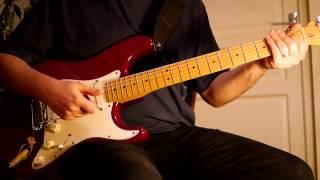 Pink Floyd - my Sorrow cover's tutorial