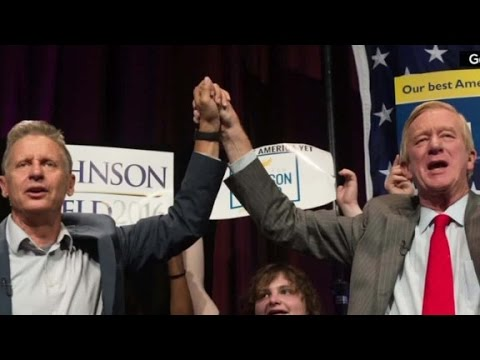 Libertarian VP candidate on impact with millennials