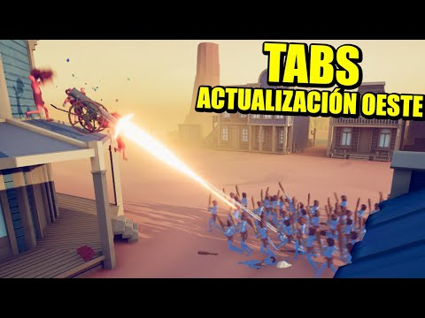 LOS VAQUEROS!!! - ACTUALIZACIÓN TABS (TOTALLY ACCURATE BATTLE SIMULATOR) | Gameplay Español