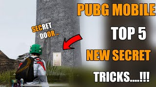 PUBG MOBILE TOP 6 NEW SECRET TIPS AND TRICKS HINDI !! NEW TRICKS PUBG MOBILE