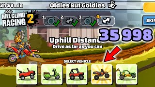 Hill Climb Racing 2 - 35998 points in OLDIES BUT GOLDIES Team Event