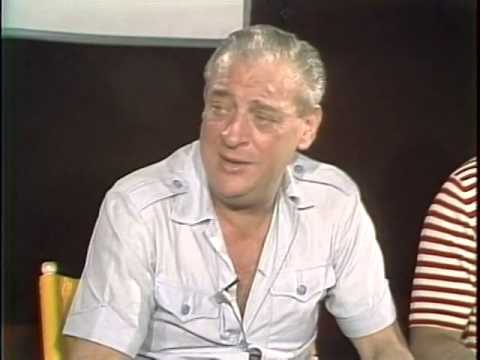 Rodney Dangerfield, Chevy Chase, Bill Murray, Ted Knight (Caddy Shack Interview 1980)