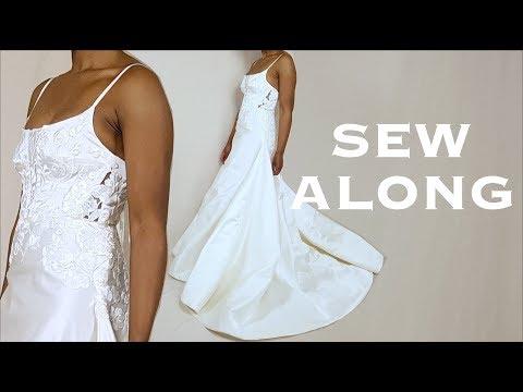 DIY A-Line Wedding Gown (Sew Along)