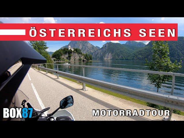 Motorradtour Österreichs Seen