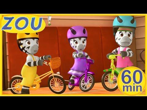 zou-en-español-🏁-competiciones-🚴♀️-60-min-recopilaciÓn-|-dibujos-animados-2019