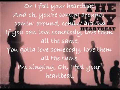 The fray heartbeat lyrics mp3
