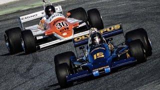 Espiritu de Montjuic 2017 - FIA Masters Historic F1 Championship Race - Pure V8 Sounds!