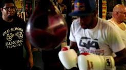 Quality Athletics custom boxing gloves with Tijuana Jack