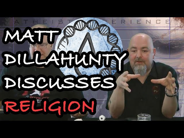 Matt Dillahunty Talks About Religious Upbringing And Ethics