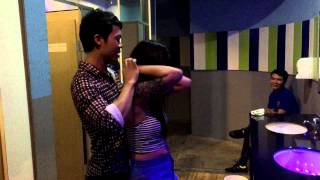 cute thai girl get massage in toilet men discotheque pattaya