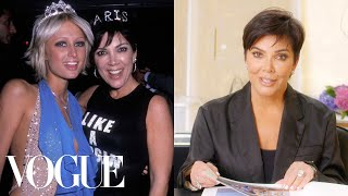 Kris Jenner Breaks Down 17 Looks From 1990 to Now | Life in Looks | Vogue