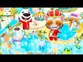 Talking Tom Pool - Talking Tom Pool Party - Talking Tom Games For Kids - (Level 45-50) full HD